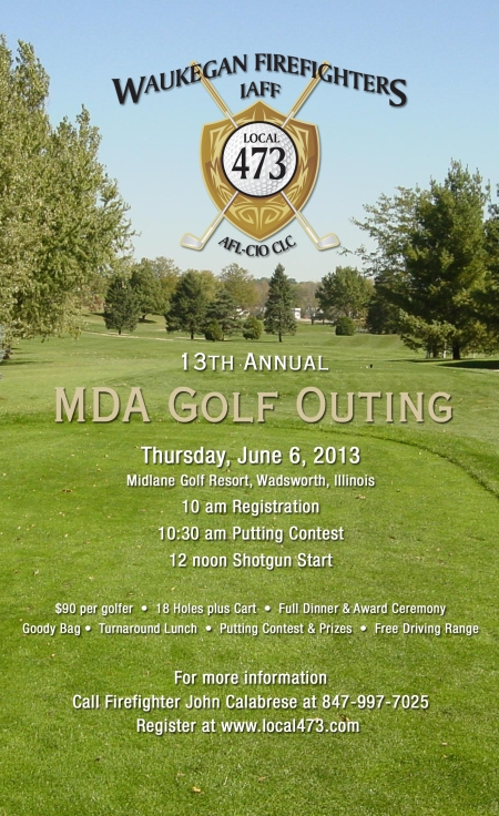 13th Annual MDA Golf Outing